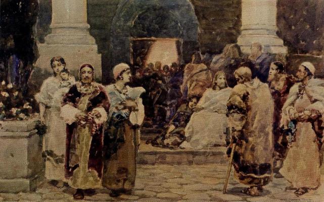 Wilhelm Kotarbinsky. The gospel story