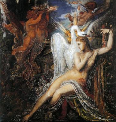 Gustave Moreau. Leda