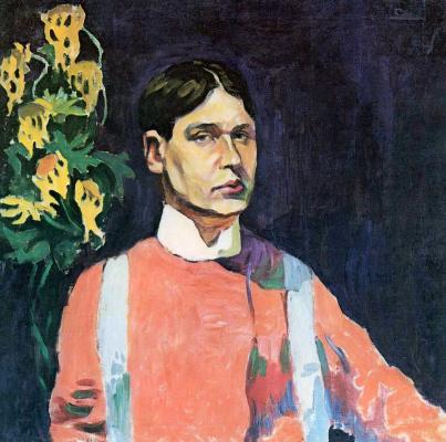 Aristarkh Vasilyevich Lentulov. Self-portrait