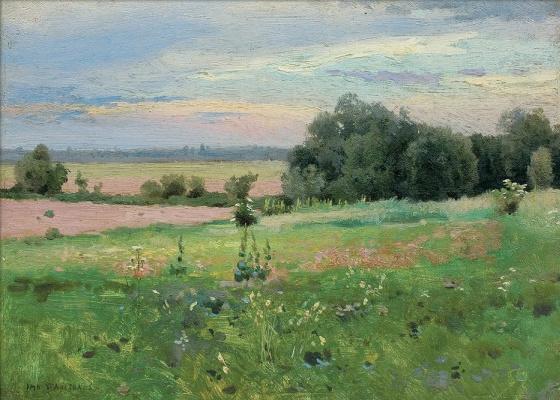 Jan Stanislavsky. Meadow