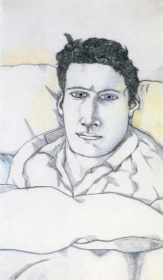 Люсьен Фрейд. Мужчина в постели