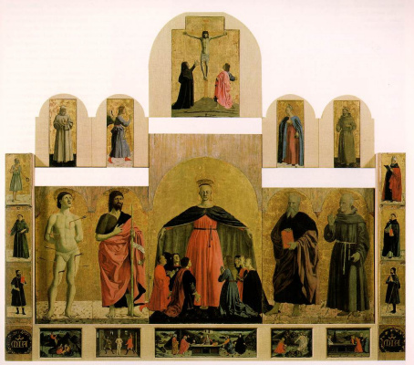 Piero della Francesca. Polyptych Of Mercy