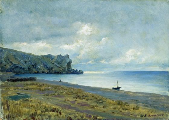 Nikolay Aleksandrovich Yaroshenko. Sudak Bay in the Crimea. 1882