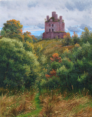 Alexander Vasilyevich Zoryukov. The forgotten path to the abandoned temple. Mosalsk