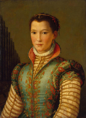 Alessandro Allori. Portrait of a lady. 1560s