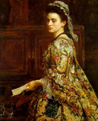 John Everett Millais. Vanessa