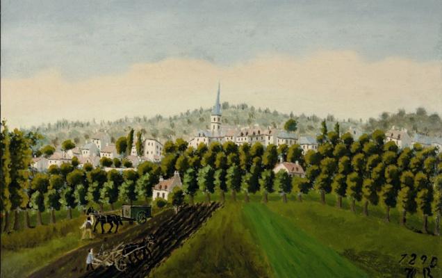 Henri Rousseau. View of Bottom and MeudonBillancourt
