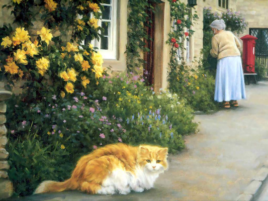 Роберт Данкан. Рыжий кот