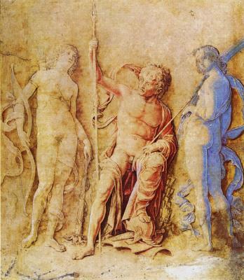 Andrea Mantegna. Venus and Mars