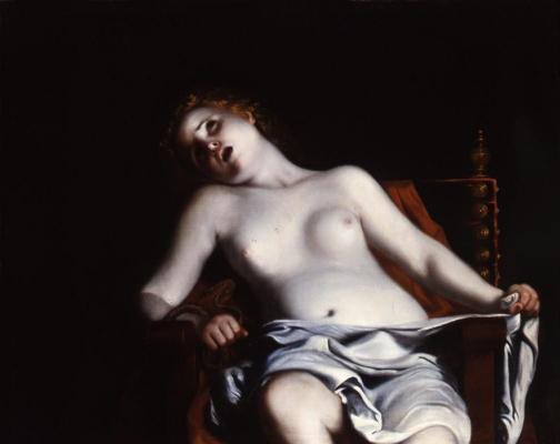 Гвидо Каньяччи. Самоубийство Клеопатры