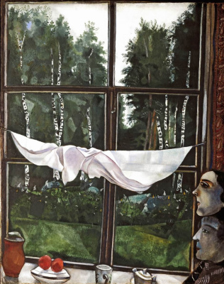 Marc Chagall. The window in the country