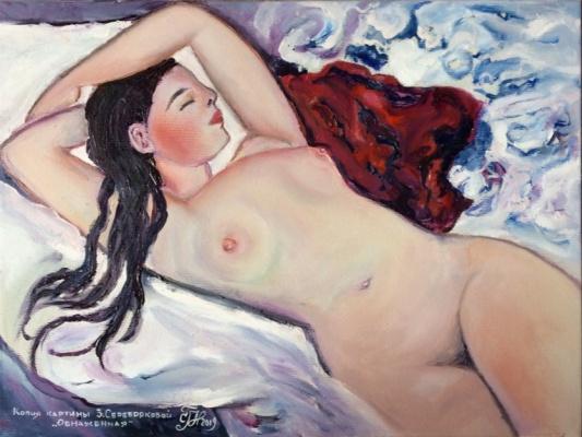 Galina Nikolaevna Silina. ,, naked ,,