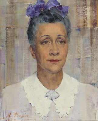 Nikolay Feshin. Portrait