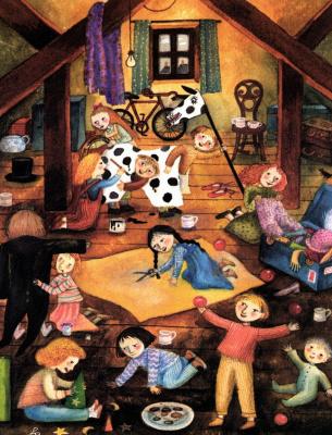 Фиона Муди. Детские игры