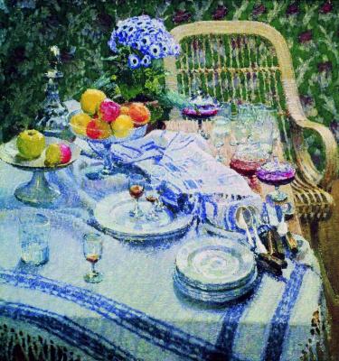 Igor Nobel Grabar. Uncleared table