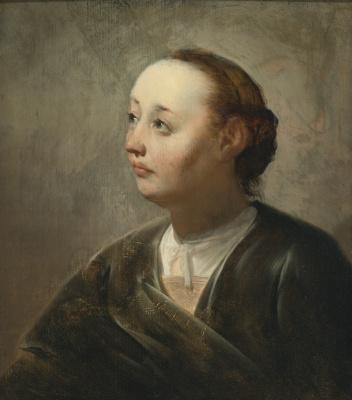 Франс Питерс де Греббер. Женский портрет.
