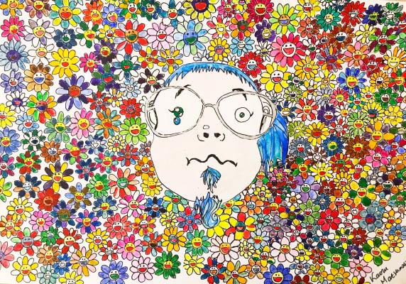 Kaoru Matsumoto. Takashi Murakami Reproduction