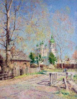 Vasily Ivanovich Gribennikov. Spring landscape
