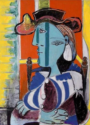Pablo Picasso. Woman sitting with arms crossed (Marie-Therese Walter)