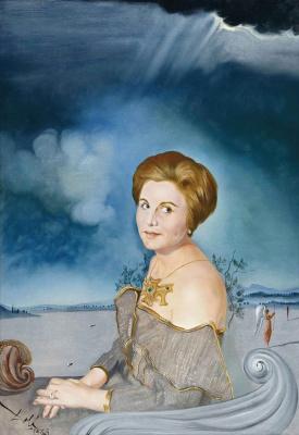 Salvador Dali. Portrait of Sarah Maria Larrabure