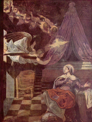 Jacopo Tintoretto. The Annunciation