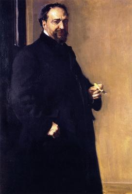 Портрет Висенте Бласко Ибаньеса