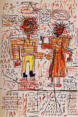Jean-Michel Basquiat. Self-portrait