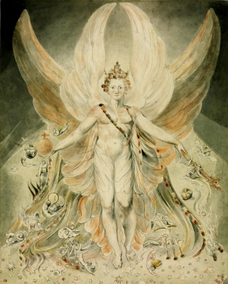 "William Blake. Satan in his Original Glory: ""Thou was perfect until, until iniquity was found in You"""