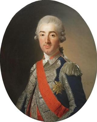 Alexander Roslin. Portrait of K.ZH. de Bopoy, Count Saint-Oler