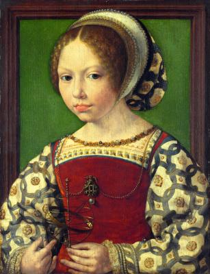 Ян Госсарт. Молодая принцесса