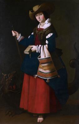 Франсиско де Сурбаран. Святая Маргарита Антиохийская
