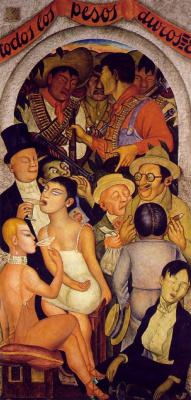 Diego Maria Rivera. Night of the rich