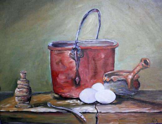 Сергей Николаевич Ходоренко-Затонский. Copper pot