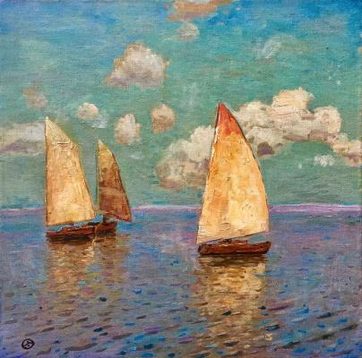 "Eugene Alexandrovich Urvantsev. ""In the sea"""