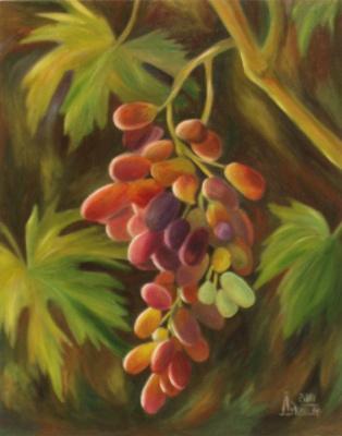 Larissa Lukaneva. Bunch of grapes