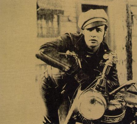 Andy Warhol. Marlon