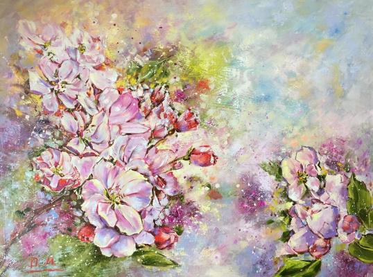 Диана Владимировна Маливани. Bloomy Apple Tree