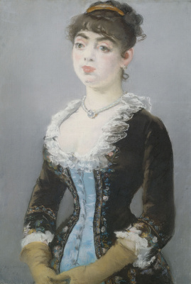 Edouard Manet. Portrait of Madame Michel-levy