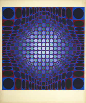 Victor Vasarely. Untitled
