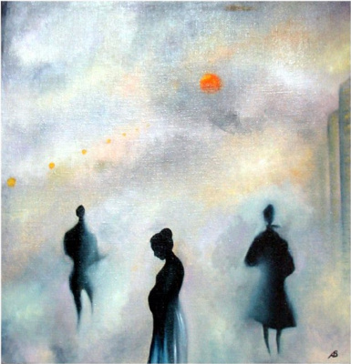 Vladimir Vasilyevich Abaimov. Walking in the fog 3