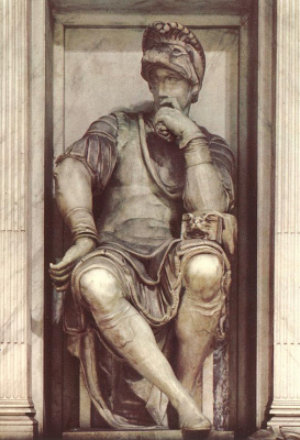 Michelangelo Buonarroti. Tomb Of Lorenzo De ' Medici. Lorenzo De ' Medici