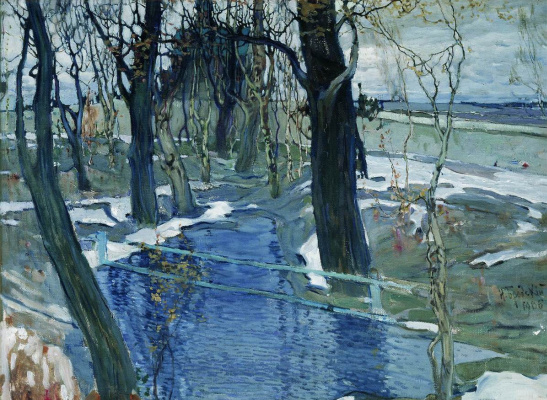 Isaac Brodsky. To spring