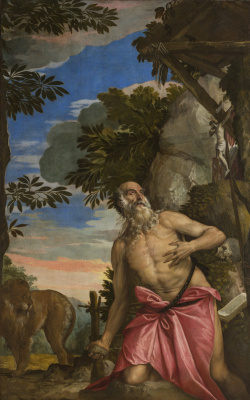 Paolo Veronese. St. Jerome in the desert