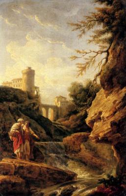 Клод Жозеф Верне. Водопад