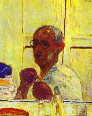 Пьер Боннар. Мужчина в очках
