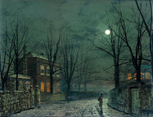 John Atkinson Grimshaw. The plot 11