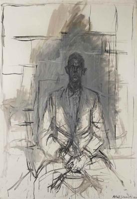 Alberto Giacometti. A Portrait Of James Lord