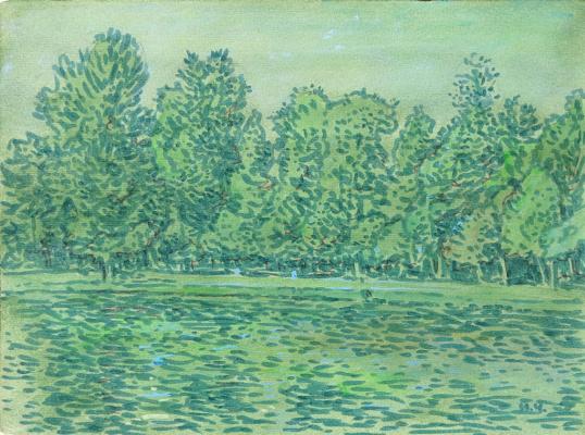 Ivan Alexandrovich Chistov. Екатерининский парк
