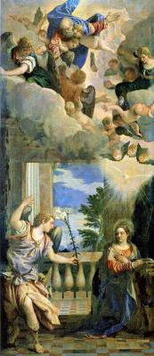 Paolo Veronese. The Annunciation