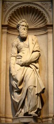 Michelangelo Buonarroti. The Apostle Paul